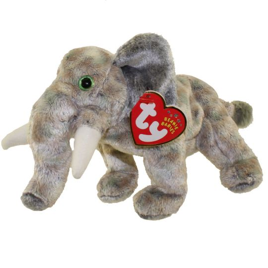 2f0a6d6f417 TY Beanie Baby - POUNDS the Elephant (7 inch)  BBToyStore.com - Toys ...
