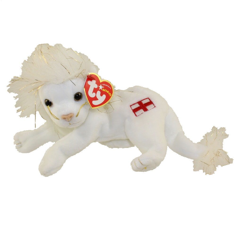 ty beanie baby - louie the lion  6 inch   bbtoystore com