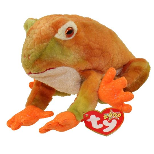 TY Beanie Baby - PRINCE the Frog (8 inch)  BBToyStore.com - Toys ... adfa590544a