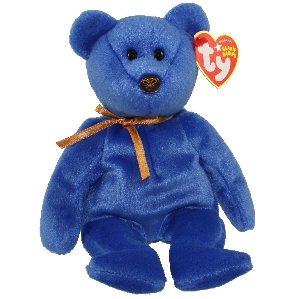 Ty Beanie Baby Promise The Blue Bear Northwestern