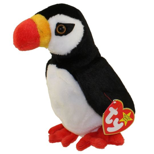 TY Beanie Baby - PUFFER the Puffin (6 inch)  BBToyStore.com - Toys ... d607db4573f9