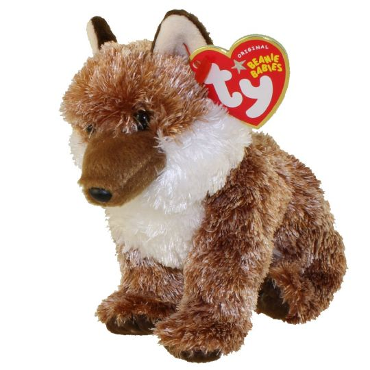 91761d53762 TY Beanie Baby - PUNGO the Red Wolf (Internet Exclusive) (7 inch)   BBToyStore.com - Toys