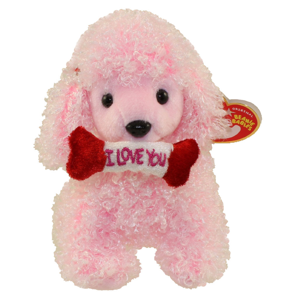 Ty Beanie Baby Pup In Love The Dog 5 5 Inch Bbtoystore Com