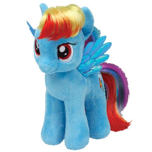 e35957c905a TY Beanie Baby - RAINBOW DASH (My Little Pony - 7 inch)