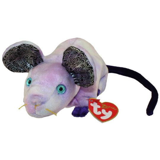 2606ee9a859 TY Beanie Baby - THE RAT Chinese Zodiac (6 inch)  BBToyStore.com - Toys