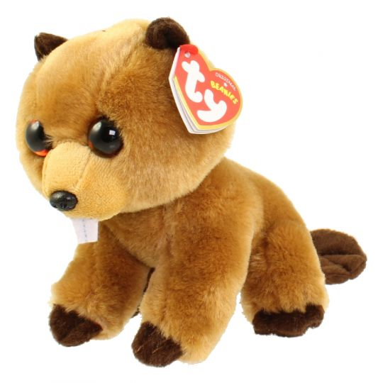 471fd8823fa TY Beanie Baby - RICHIE the Beaver (6 inch)  BBToyStore.com - Toys ...