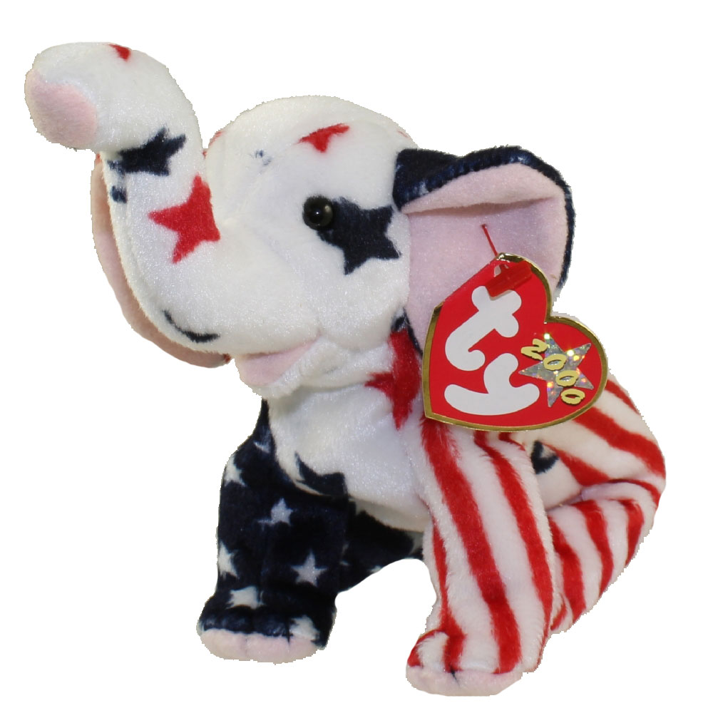 Ty Beanie Baby Righty 2000 The Elephant 6 5 Inch