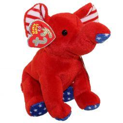 TY Beanie Baby 2.0 - RIGHTY the Elephant (2008) (6 inch) 9679b16fc9f5