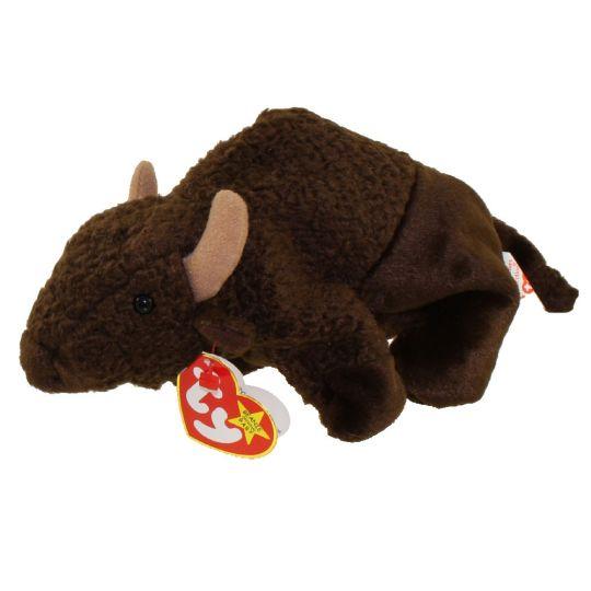 Ty Beanie Baby Roam The Buffalo 6 5 Inch Bbtoystore Com Toys