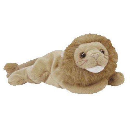 0173509092f TY Beanie Baby - ROARY the Lion (8 inch)  BBToyStore.com - Toys ...
