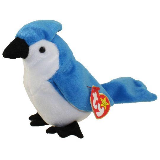 TY Beanie Baby - ROCKET the BlueJay Bird (5 5 inch)