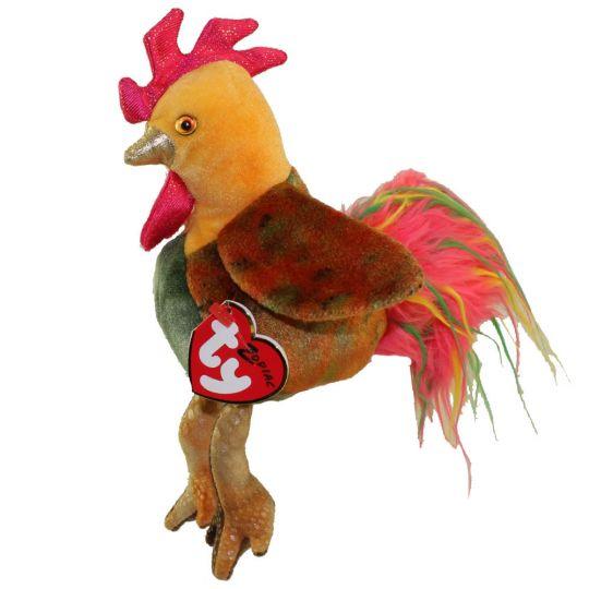 TY Beanie Baby - THE ROOSTER Chinese Zodiac (5 inch)  BBToyStore.com -  Toys 4792007e577