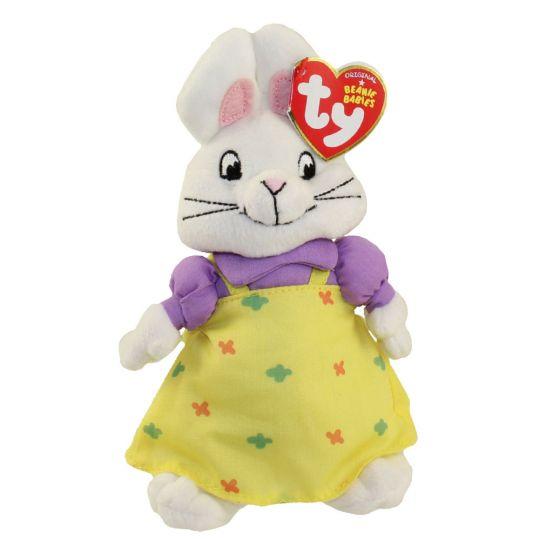 TY Beanie Baby - RUBY the Rabbit (Nick Jr. - Max   Ruby)  BBToyStore.com -  Toys 8132235dd9c