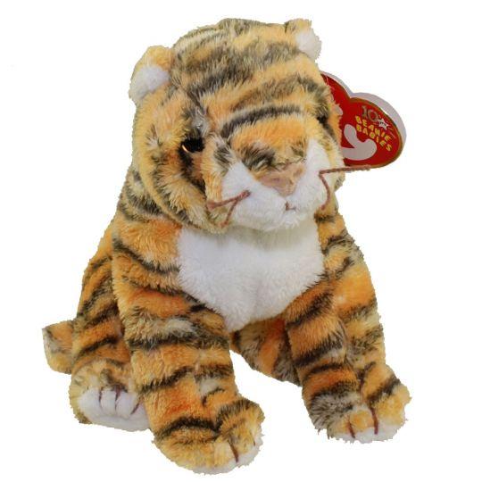 TY Beanie Baby - RUMBA the Tiger (5.5 inch)  BBToyStore.com - Toys ... ff8b14f9c10f