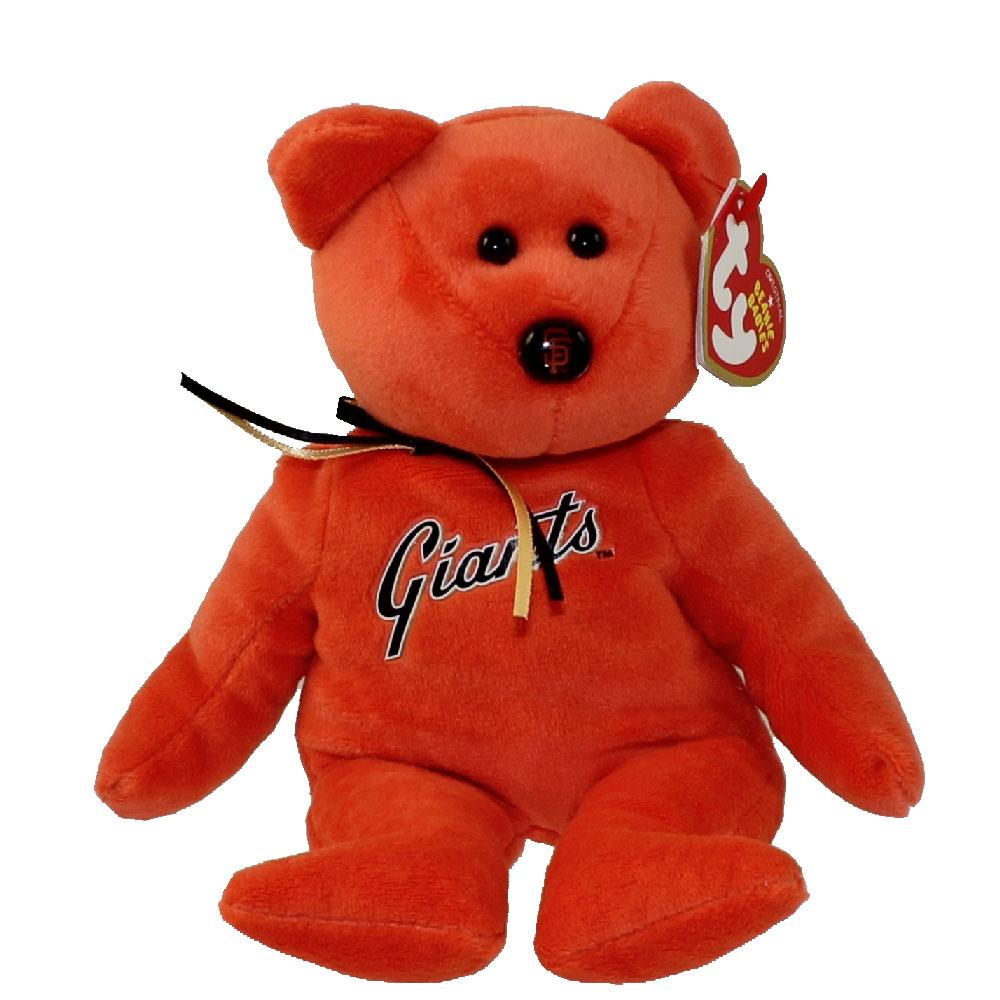 TY Beanie Baby - MLB Baseball Bear - SAN FRANCISCO GIANTS (8.5 inch) 221782c2f2f7