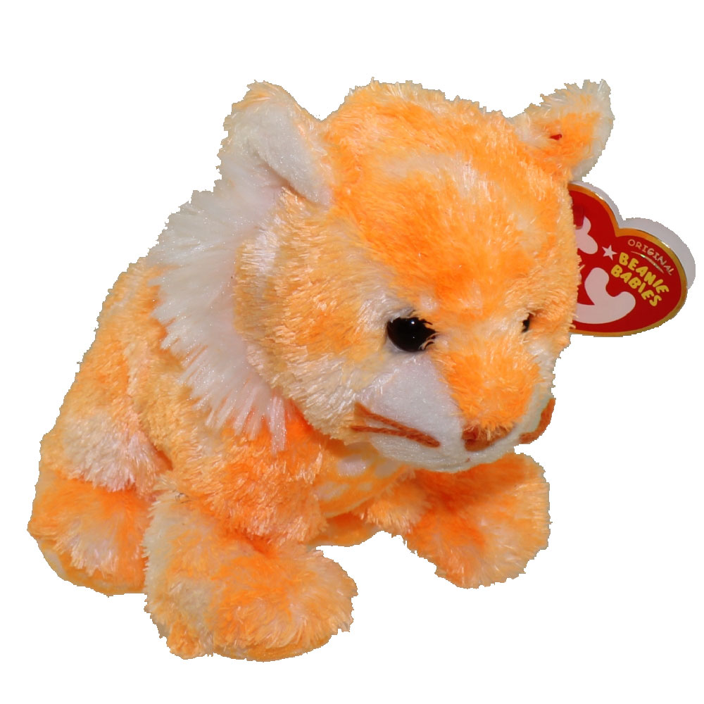 ebcc656884a TY Beanie Baby - SANDALS the Tiger (5 inch)  BBToyStore.com - Toys ...
