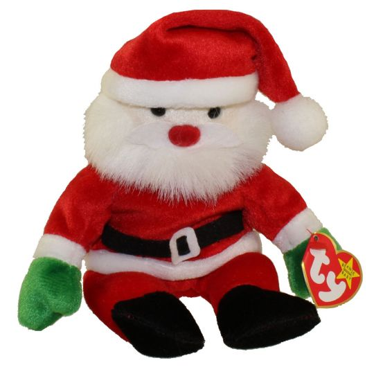 f443378c1dc TY Beanie Baby - SANTA the Santa (9 inch)  BBToyStore.com - Toys ...