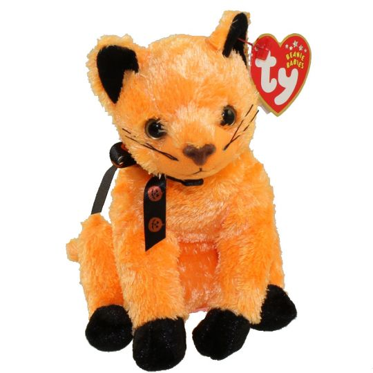 Ty Beanie Baby Scared E The Orange Cat Internet Exclusive 6