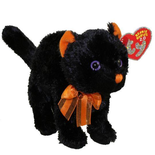 5a4de233c25 TY Beanie Baby 2.0 - SCAREDY the Black Cat (5.5 inch)  BBToyStore.com -  Toys