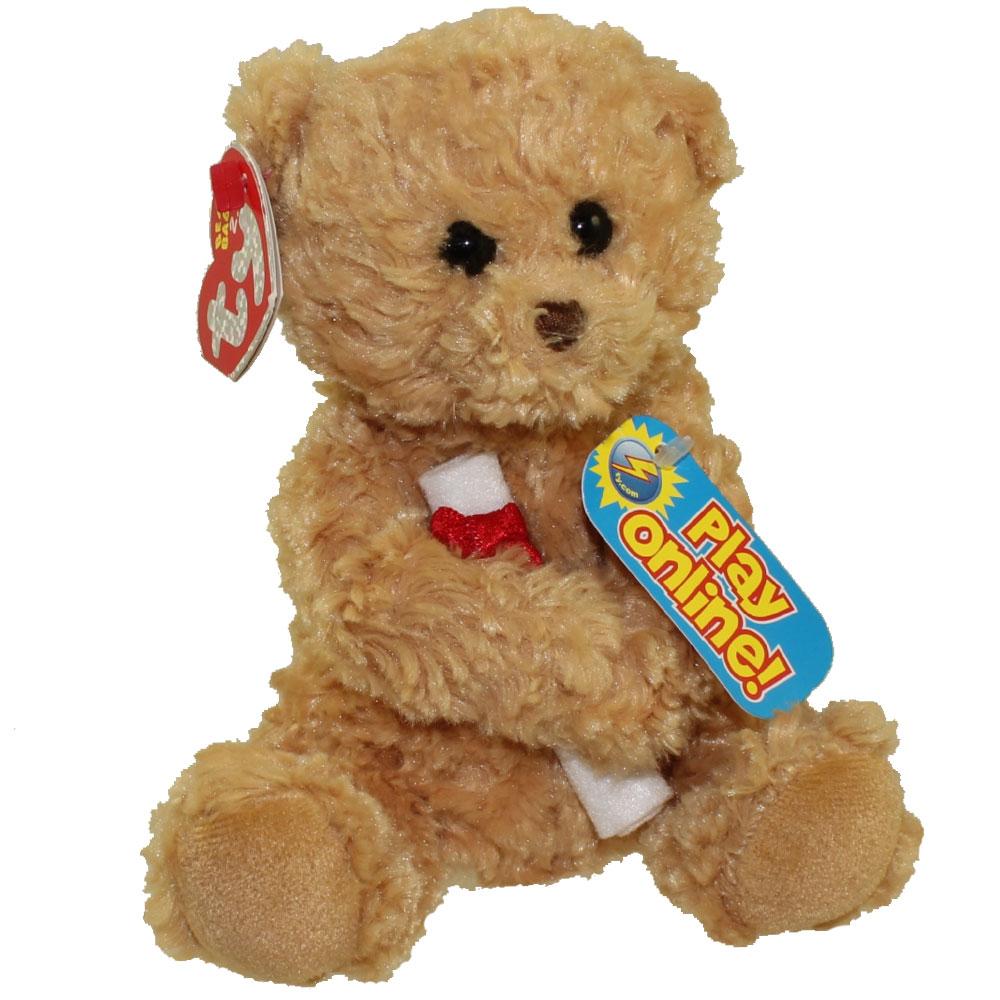 d069e21ff87 TY Beanie Baby 2.0 - SCHOLARS the Graduation Bear (No Hat Version) (6.5