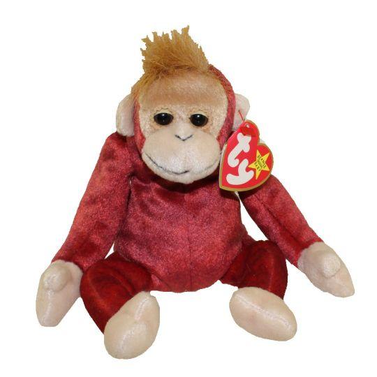 TY Beanie Baby - SCHWEETHEART the Monkey (8.5 inch)  BBToyStore.com - Toys 8f78f66e5f