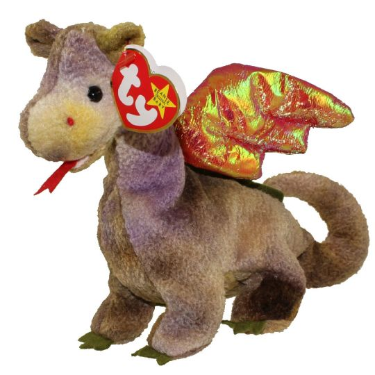 TY Beanie Baby - SCORCH the Dragon (7 inch)  BBToyStore.com - Toys ... 749f03b881b
