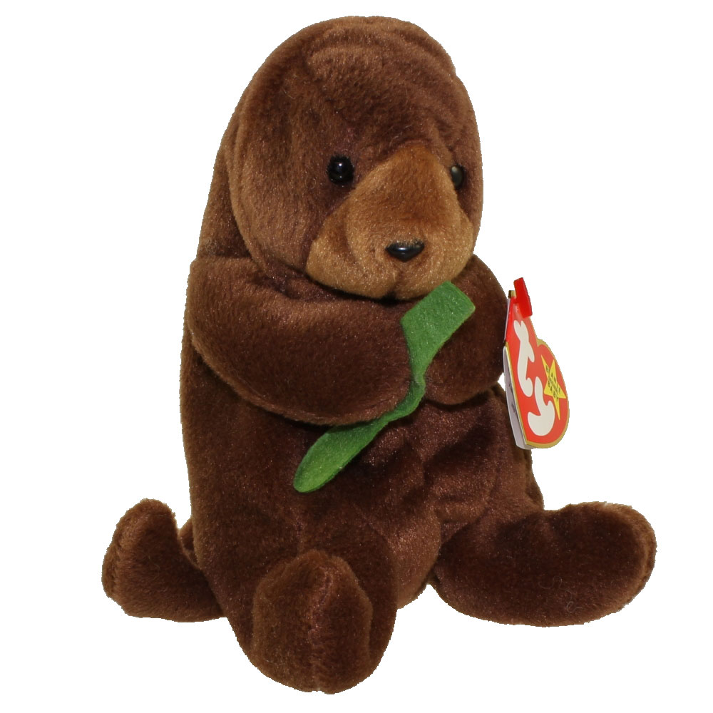 Stuffed Otter Dog Toy