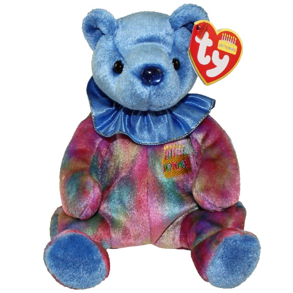 9efd0fe2316 TY Beanie Baby - SEPTEMBER the Birthday Bear (7.5 inch)