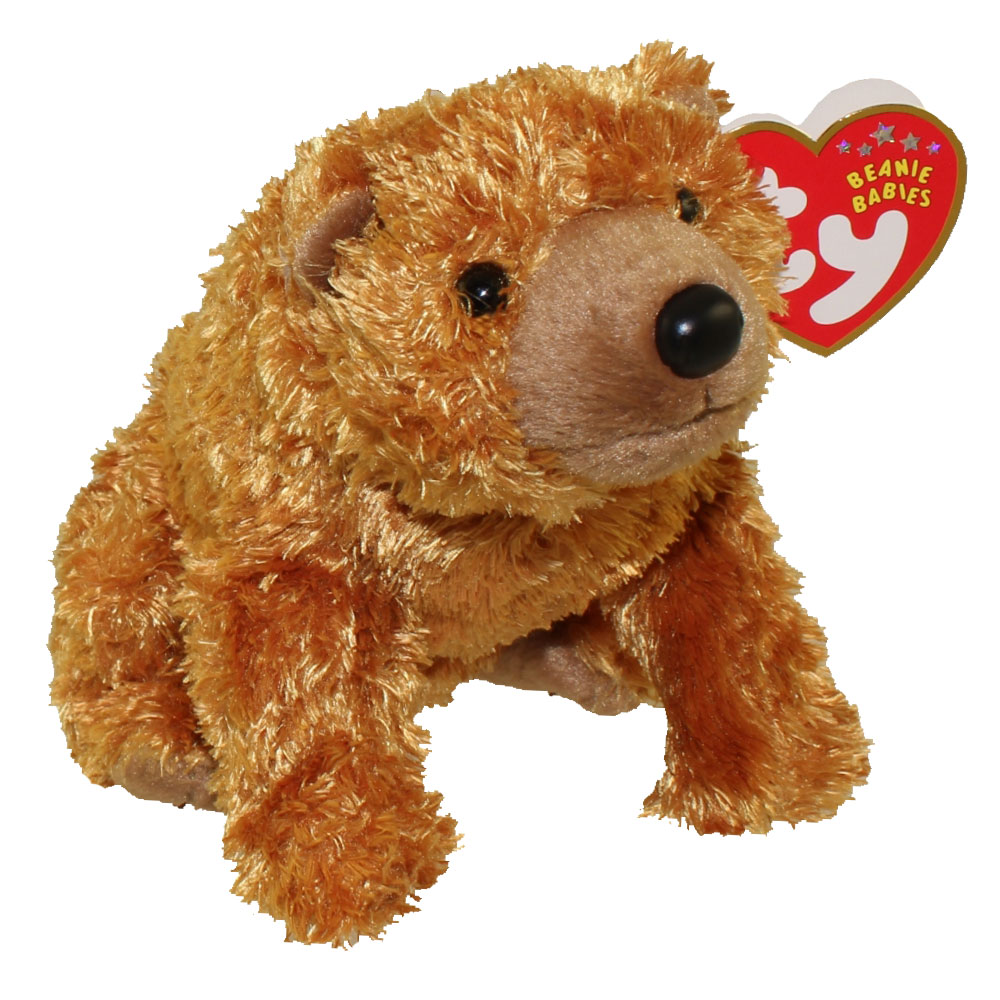 Ty Beanie Baby Sequoia The Brown Bear 5 Inch