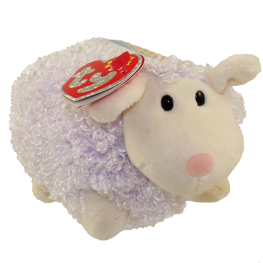 8ef6bb8a667 TY Beanie Baby 2.0 - SHEARSLY the Purple Lamb (5.5 inch)