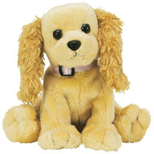 Ty Beanie Baby Sis The Cocker Spaniel Dog Internet Exclusive