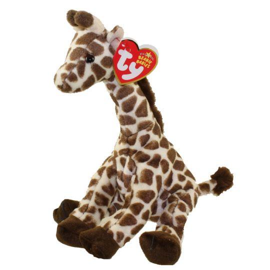 TY Beanie Baby - SLAMDUNK the Giraffe (7.5 inch)  BBToyStore.com - Toys 04a2005d82d3