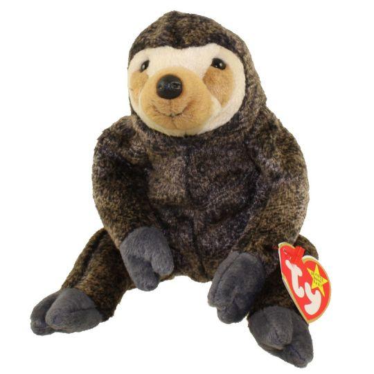 a6578d058a5 TY Beanie Baby - SLOWPOKE the Sloth (5.5 inch)  BBToyStore.com - Toys
