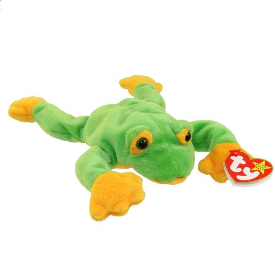 TY Beanie Baby - SMOOCHY the Frog (8 inch)  BBToyStore.com - Toys ... 214cd182b6e