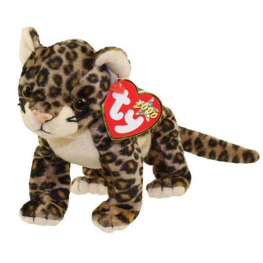 Ty Beanie Baby Sneaky The Leopard 5 5 Inch Bbtoystore Com