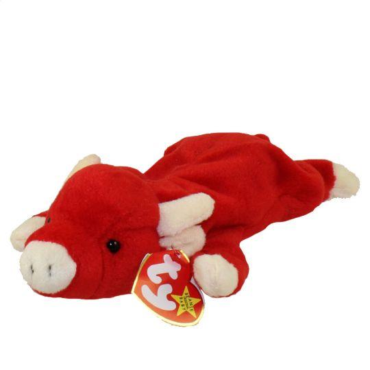 TY Beanie Baby - SNORT the Bull (9 inch)  BBToyStore.com - Toys ... 7b5db6f087a