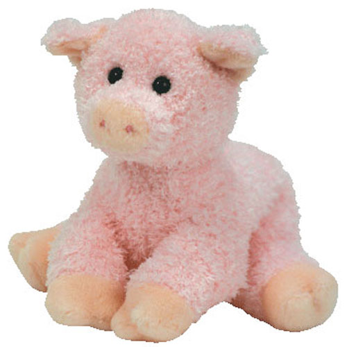 TY Beanie Baby - SOYBEAN the Pig (6.5 inch)  BBToyStore.com - Toys ... 146c347d533