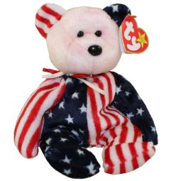 fb789650334 TY Beanie Baby - SPANGLE the Bear (Pink Head Version) (8.5 inch)