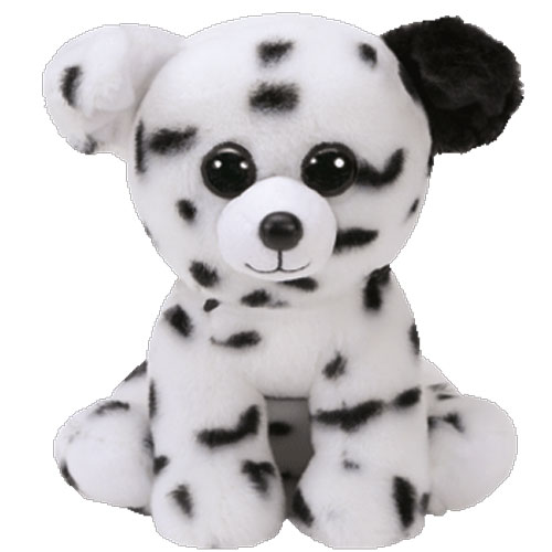 ty beanie baby - spencer the dalmatian dog  6 inch   bbtoystore com