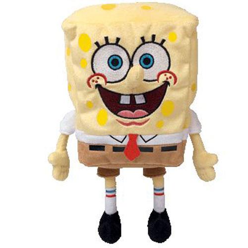 ty beanie baby spongebob squarepants spongebob movie promo 8 inch