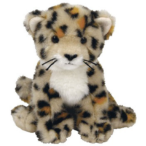 Ty Beanie Baby Spotter The Leopard 6 Inch Bbtoystore