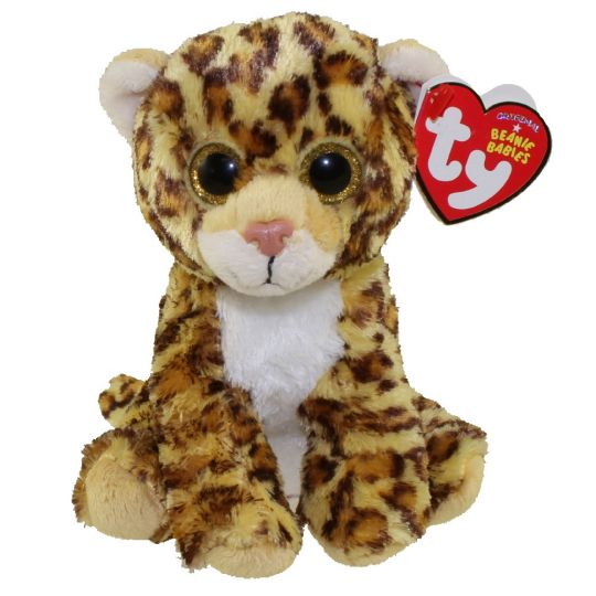 Ty Beanie Baby Spotty The Leopard 6 Inch Bbtoystore Com Toys