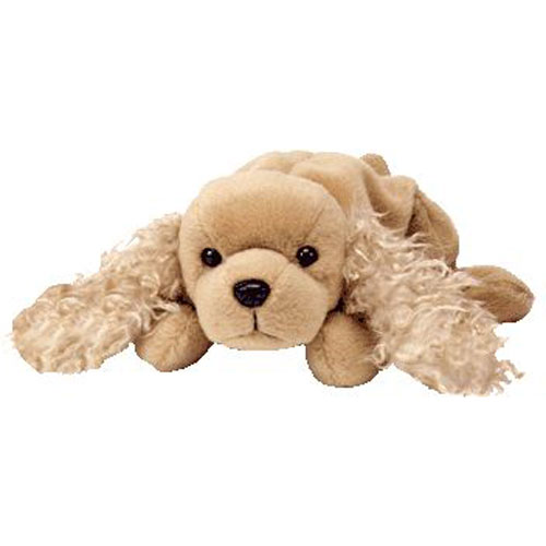 422e3930d95 TY Beanie Baby - SPUNKY the Dog (8 inch)  BBToyStore.com - Toys ...