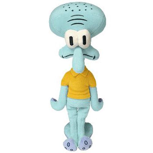 Ty Beanie Baby Squidward Tentacles Spongebob Movie