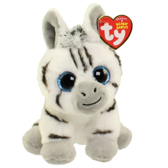 3f68c3bac73 TY Beanie Baby - STRIPES the Zebra (6 inch)  BBToyStore.com - Toys ...