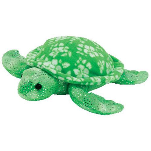 TY Beanie Baby - SUNRISE the Green Turtle (7 inch)  BBToyStore.com - Toys 2cfec0b764e
