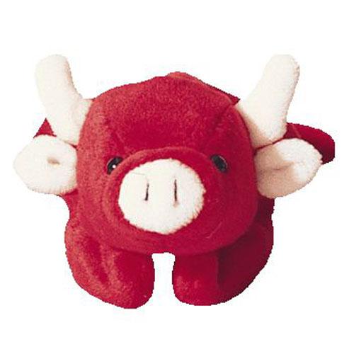 TY Beanie Baby - TABASCO the Bull (4th Gen hang tag) (8.5 inch)   BBToyStore.com - Toys 7b4c1e4bcf24