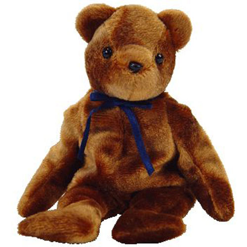 TY Beanie Baby - TED-e the Old Face Brown Bear (Internet Exclusive) (8.5  inch)  BBToyStore.com - Toys df6f05c4010