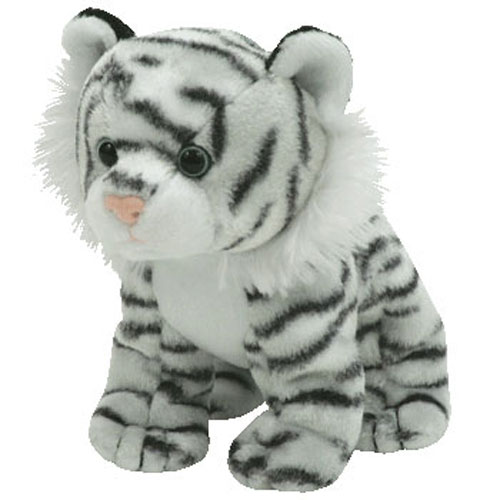 d56c9331d31 TY Beanie Baby - TEEGRA the White Tiger (5 inch)