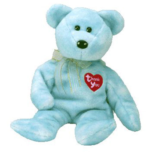 aaae7ec2f17 TY Beanie Baby - THANK YOU BEAR 2000 (Dealer Exclusive